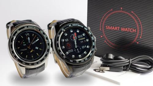 relógio android 5.1 finow q7 plus prata  512 ram + 8 rom gp