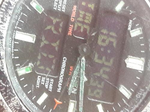 relógio antigo citizen promaster c460 leia a descrição