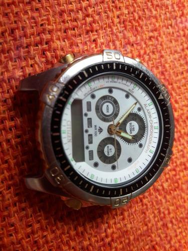 relógio antigo citizen promaster wr10 c116 leia a descrição