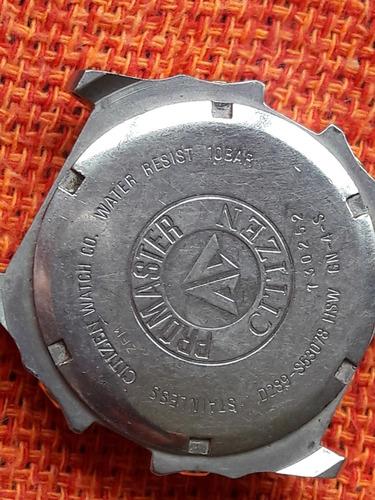 relógio antigo citizen promaster wr10  d289 leia a descrição
