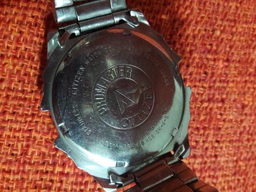 relógio antigo citizen promaster wr10  d28a leia a descrição