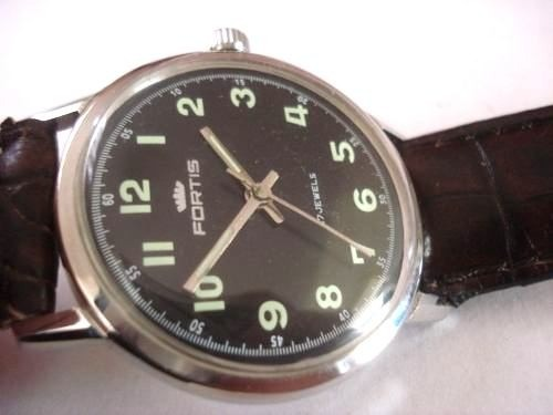 89079874f17 relógio fortis militar antigo coleção suiço · relógio antigo coleção