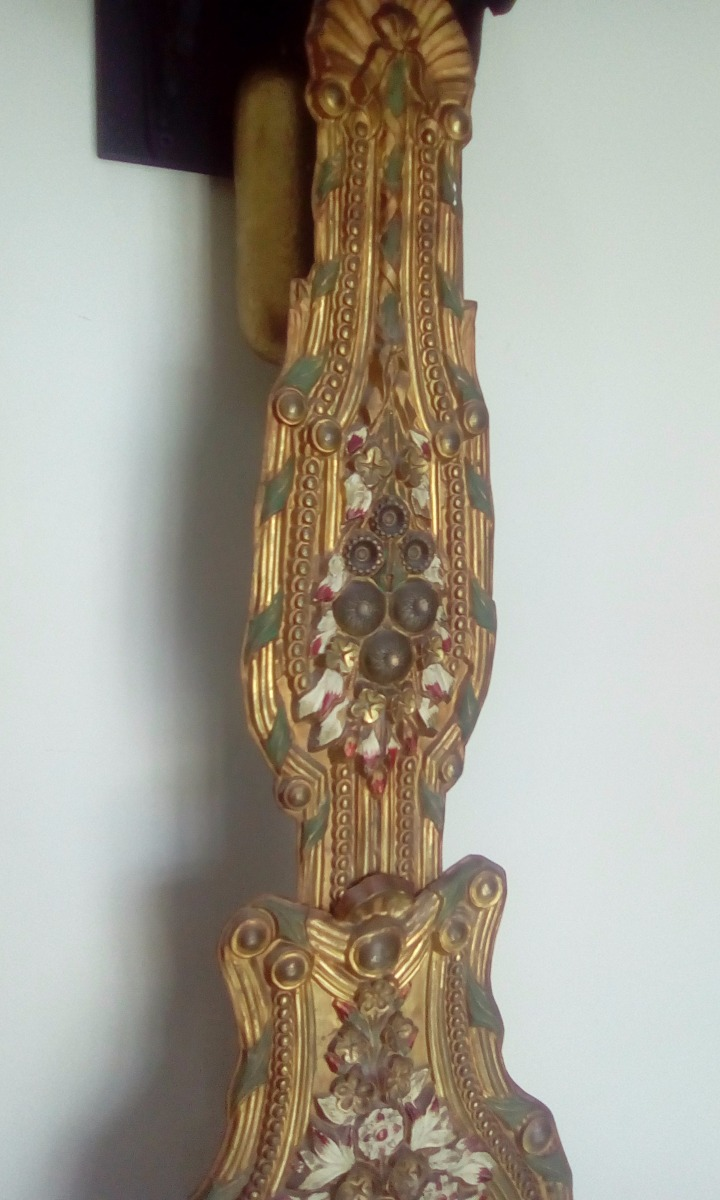 476f17893 Relógio Antigo Comtoise 1850 ! - R  3.300