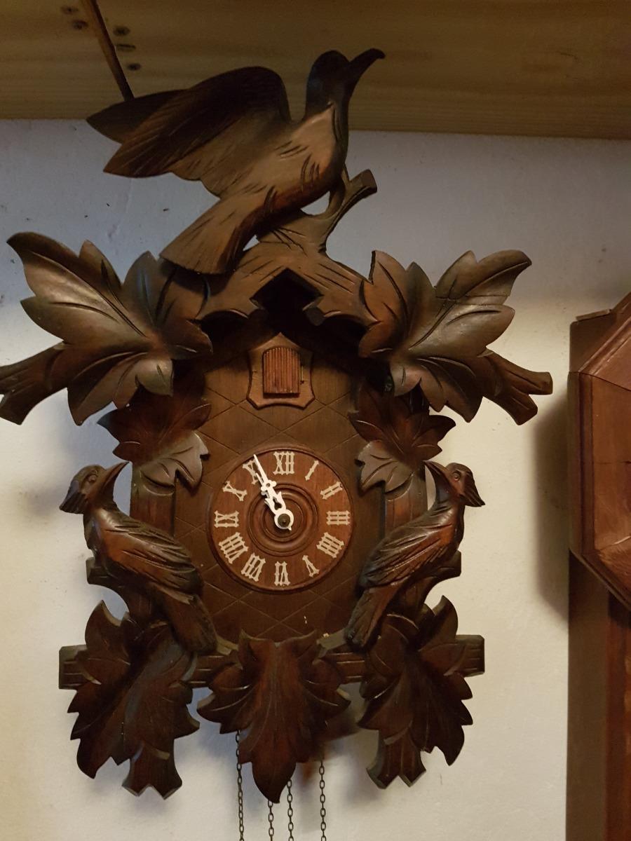 17499e5ecaf Relógio Antigo De Parede - Cuco - Perfeito Com Garantia - R  780