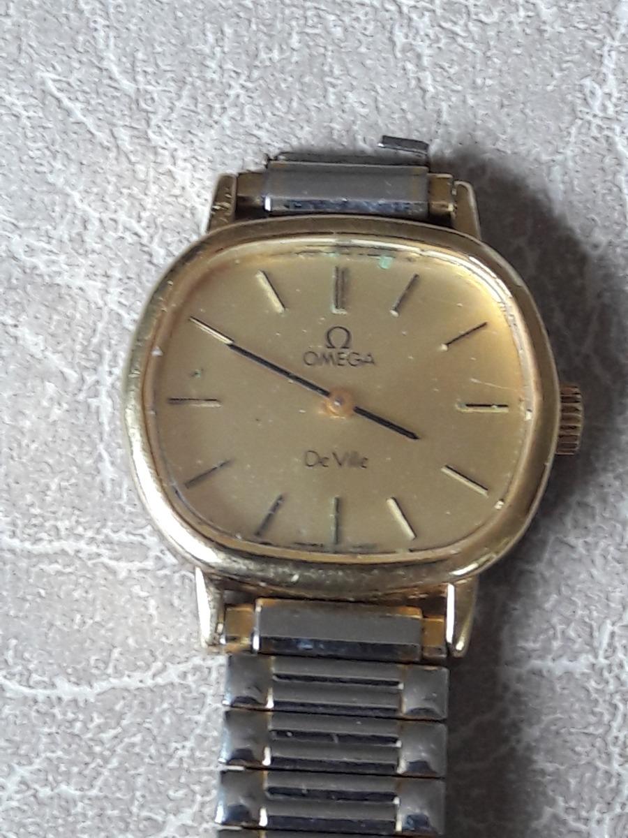 4db090da530 relógio antigo omega de ville corda corda leia descrição. Carregando zoom.