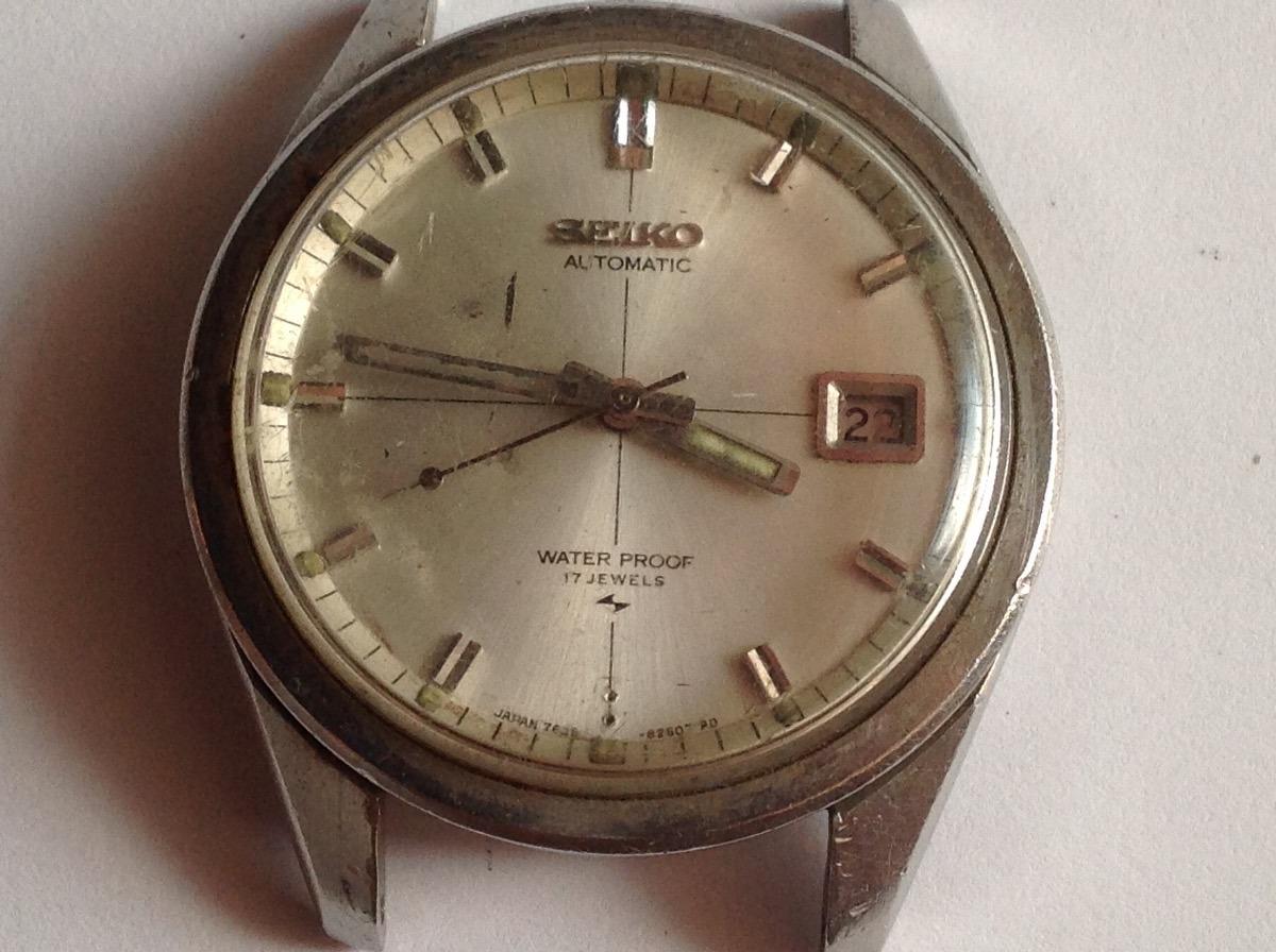 1d9326fa14c relógio antigo ( parado ) pulso seiko coleção automatico. Carregando zoom.