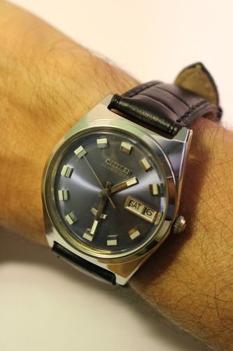 relógio antigo pulso citizen sevenstar 1968 -automático