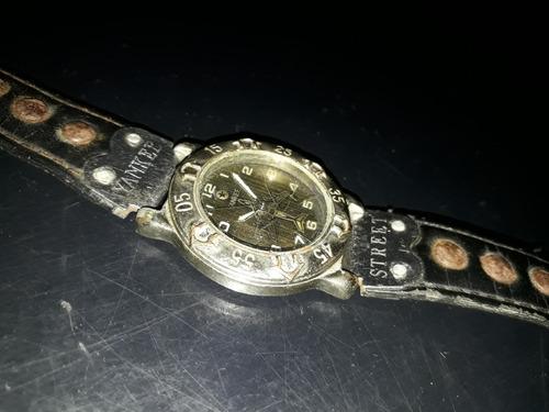 relógio antigo pulso yankee street avião para restauro