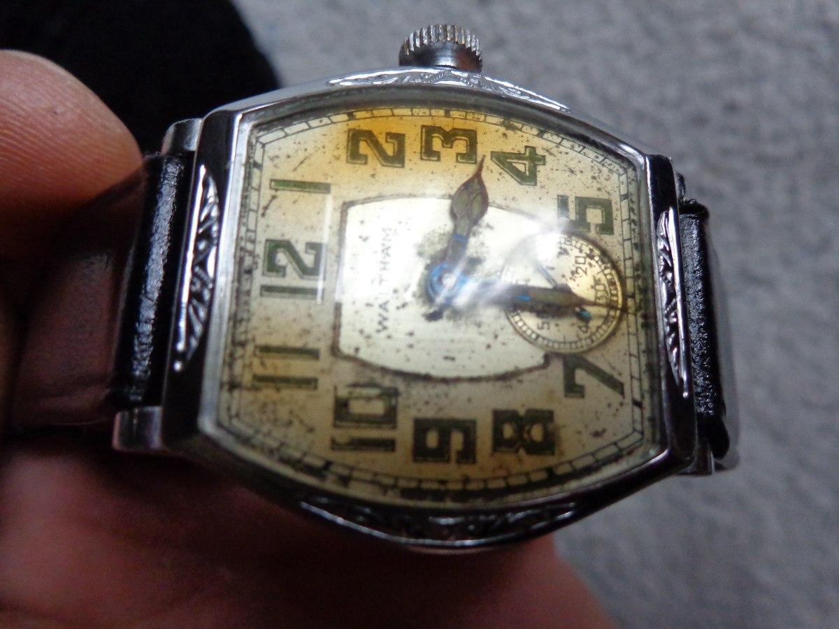 6ee262673e3 relógio antigo raro waltham pulso anos20 art deco. Carregando zoom.