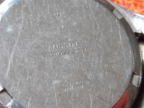relógio antigo tissot quartz zn leia a descrição