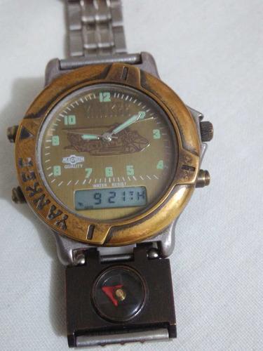 relógio antigo yankee quartz-leia descrição