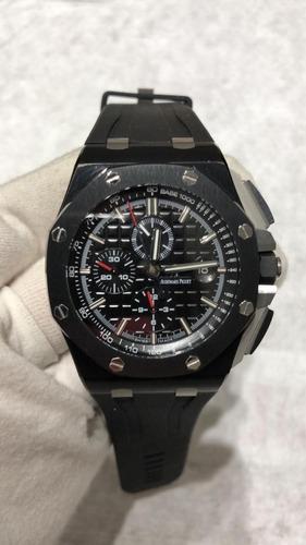 relógio ap cerâmica eta 44mm