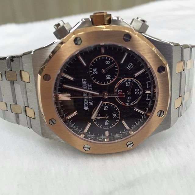 2f9a1848602 Relógio Ap Misto Rose E Prata Mostrador Preto Aço - R  800