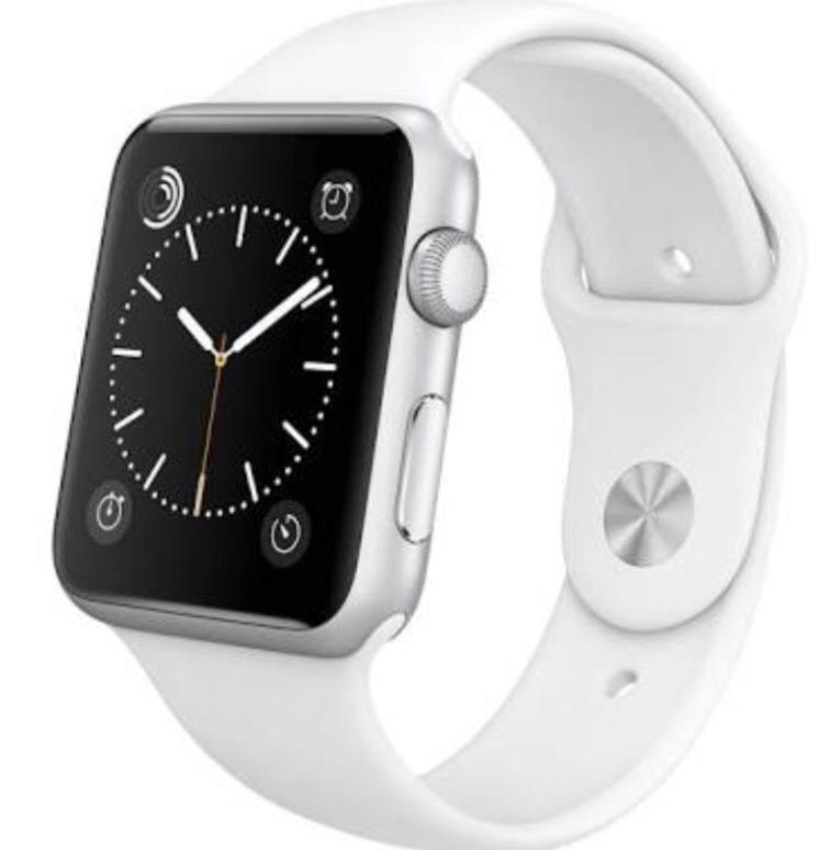 9f5acb64f04 Relógio Apple Iwatch Branco 42mm - Lacrado E Pronta Entrega - R  1.399