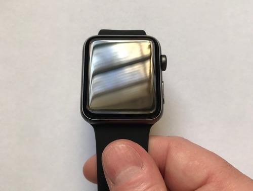 relogio apple watch serie 3 42mm aluminium excelente estado