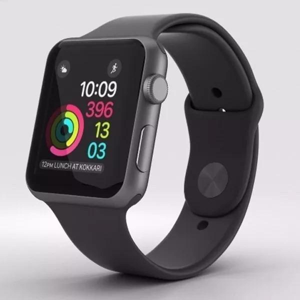 4d492d04a81 Relógio Apple Watch Serie 3 42mm Gps Prova Dágua Space Gray - R ...