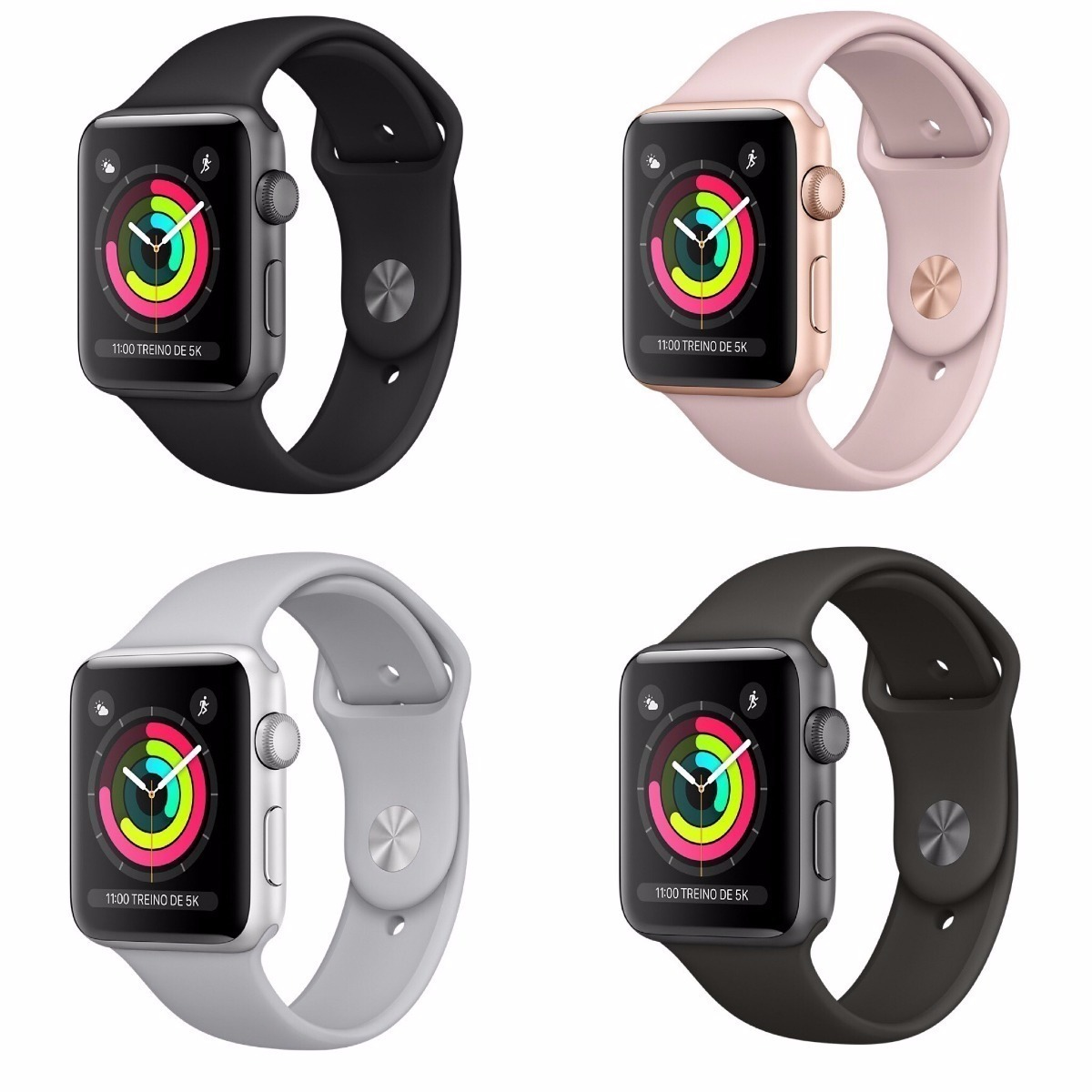 2806cc501e5 relógio apple watch serie 3 gps 42 38mm prova d água lacrado. Carregando  zoom.