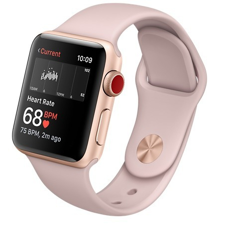 bade01fa246 Relógio Apple Watch Series 3 42mm Gps Novo Lacrado - R  2.099