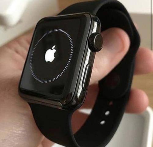 fddea72cf94 Relógio Apple Watch Series 3 42mm Novo Lacrado C Nota Fiscal - R ...
