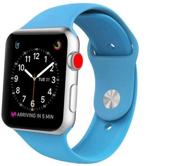 453a0db8207 Relogio Apple Watch Series 3 Gps - 42mm A Prova D Água - R  1.596
