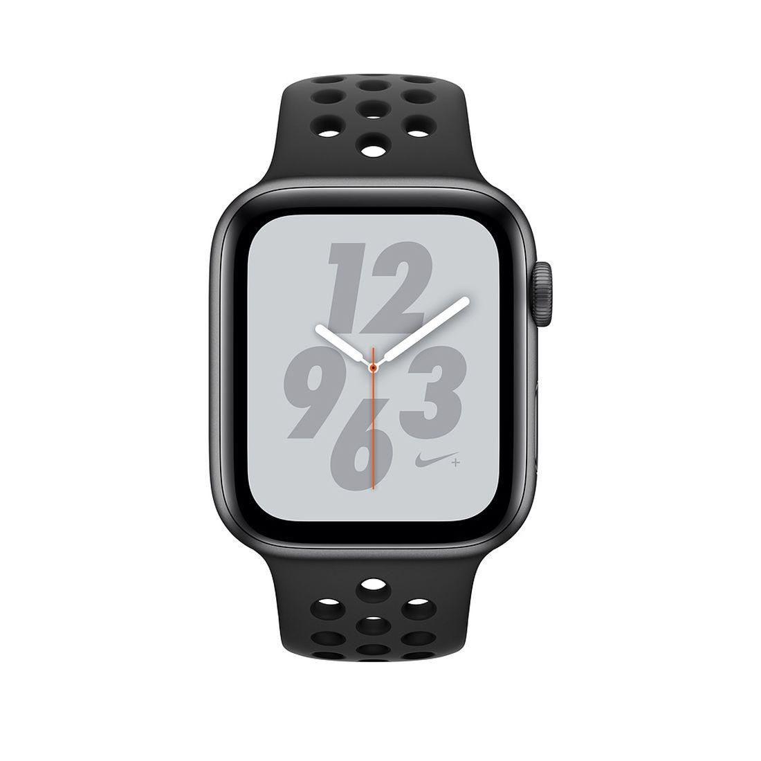 8a799f55717 relógio apple watch series 4 nike gps+ celular black sport. Carregando zoom.