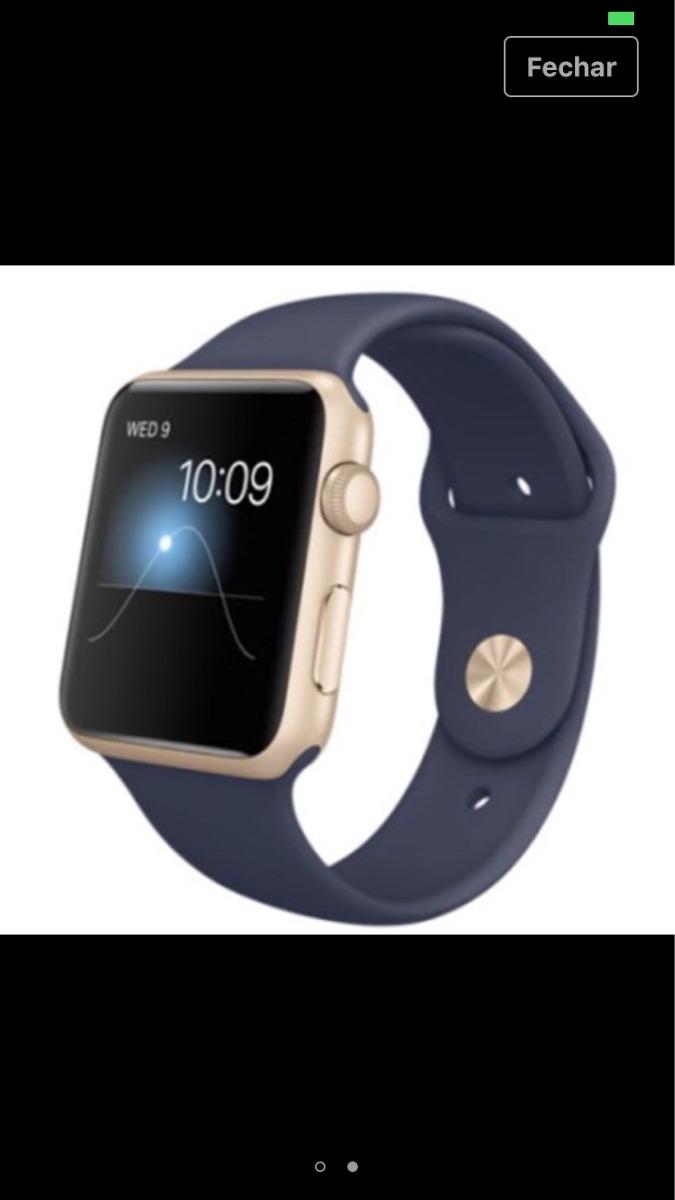 4f5cf00b1bb relogio apple watch sport 42mm dourado iwatch. Carregando zoom.