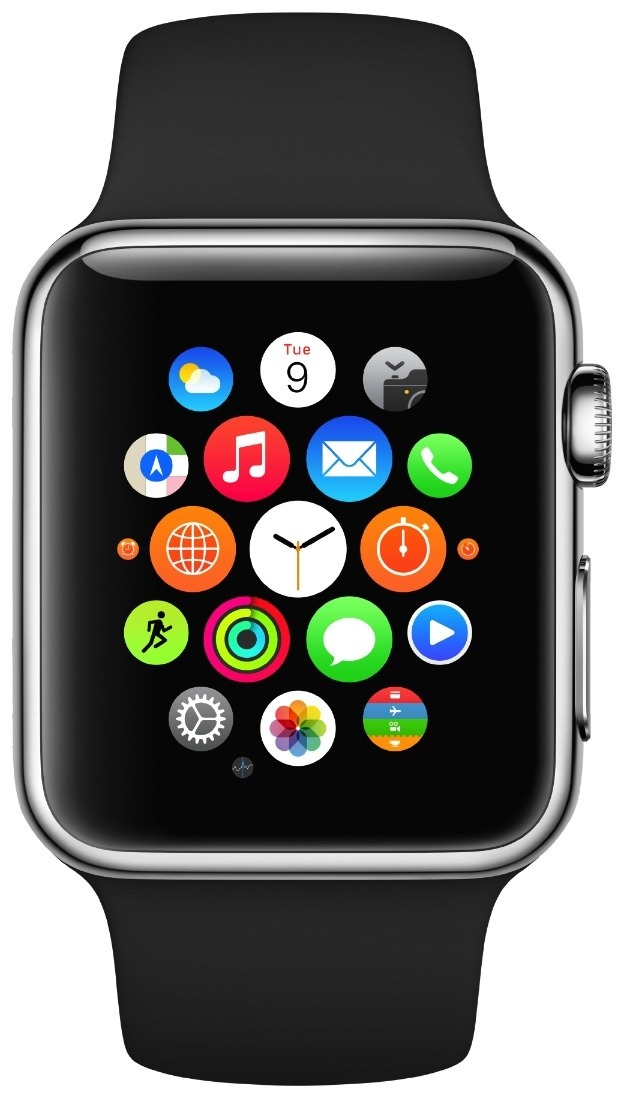 11e7a7ebbe4 Relógio Apple Watch Sport 42mm Iwatch Lacrado Diversas Cores - R  2.099