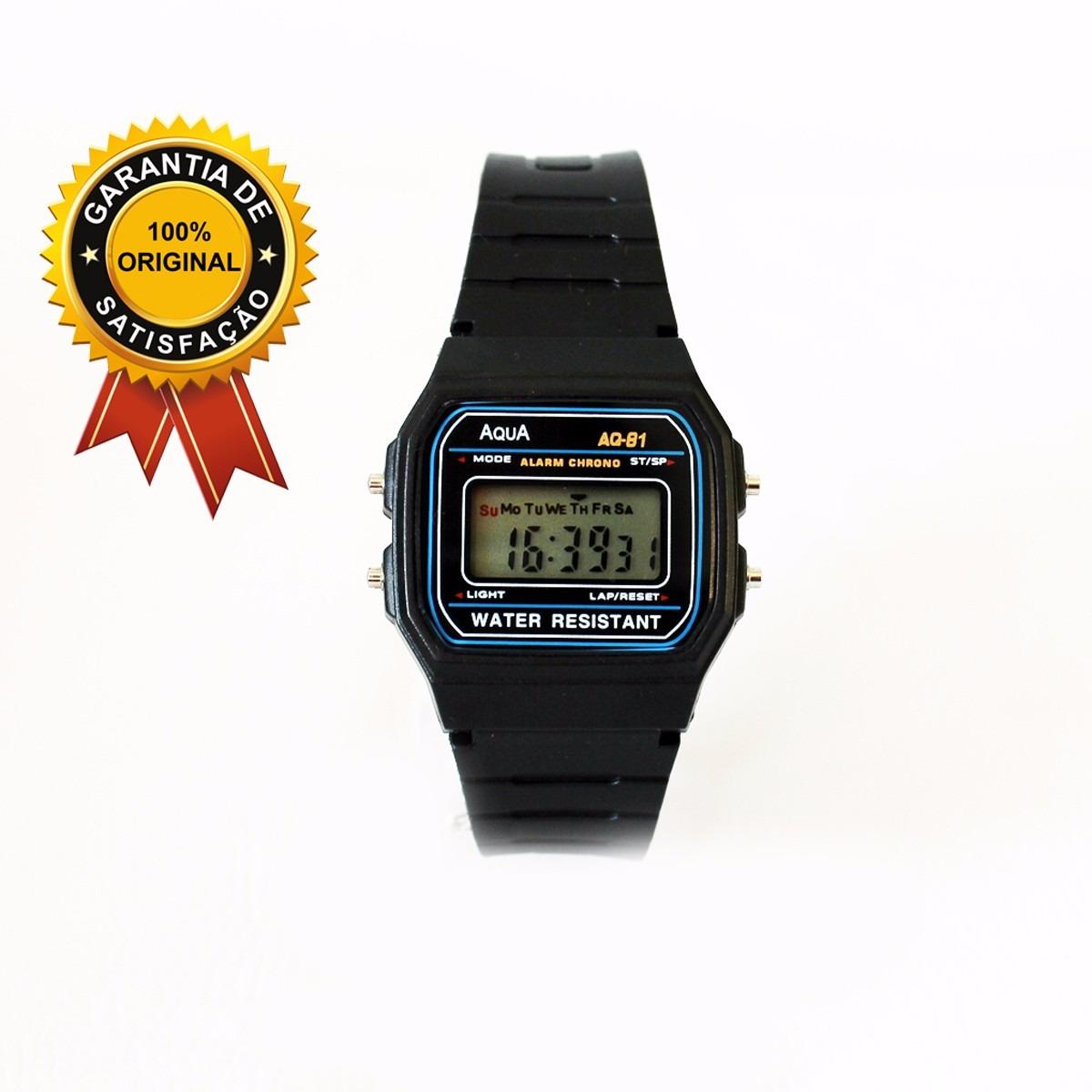 80d43f05c34 relógio aq 81 esporte a prova d agua. Carregando zoom.