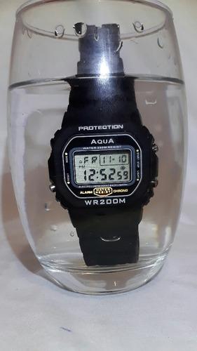 relógio aqua gp 519 prova d'agua*visor novo*promoção