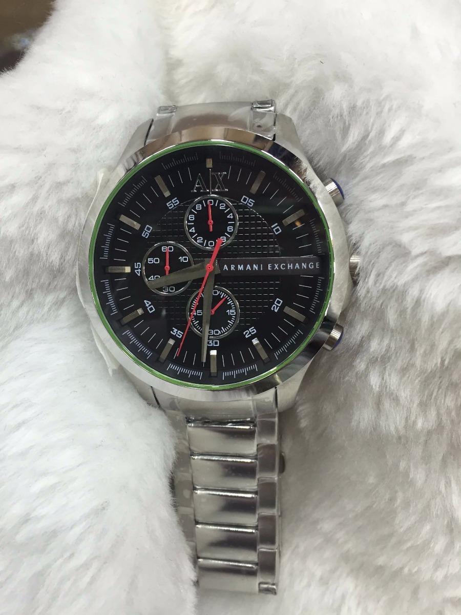 Relógio Armani Aço Chrono Fundo Preto + Brinde - R  499,00 em ... a63ea70c8c