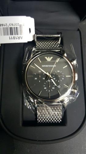 37aceaf6654 Relógio Armani Ar1811 Prata - R  600