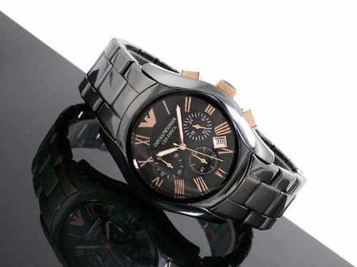 07a66787ecd Relógio Armani Cerâmica Ar 1413 - Original! - Na Caixa! - R  289