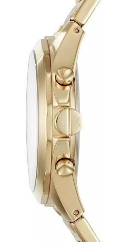 relógio armani dourado masculino à prova d'água c/ garantia