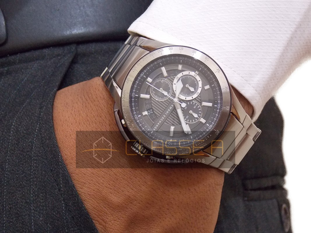 9596d2452a2 Relógio Armani Exchange Ax1403 1pn - Nf - Promoção - R  627