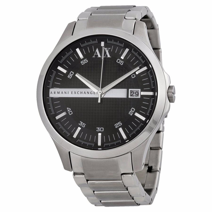 68782901230 Relógio Armani Exchange Prata Fundo Preto Ax2103 - R  449