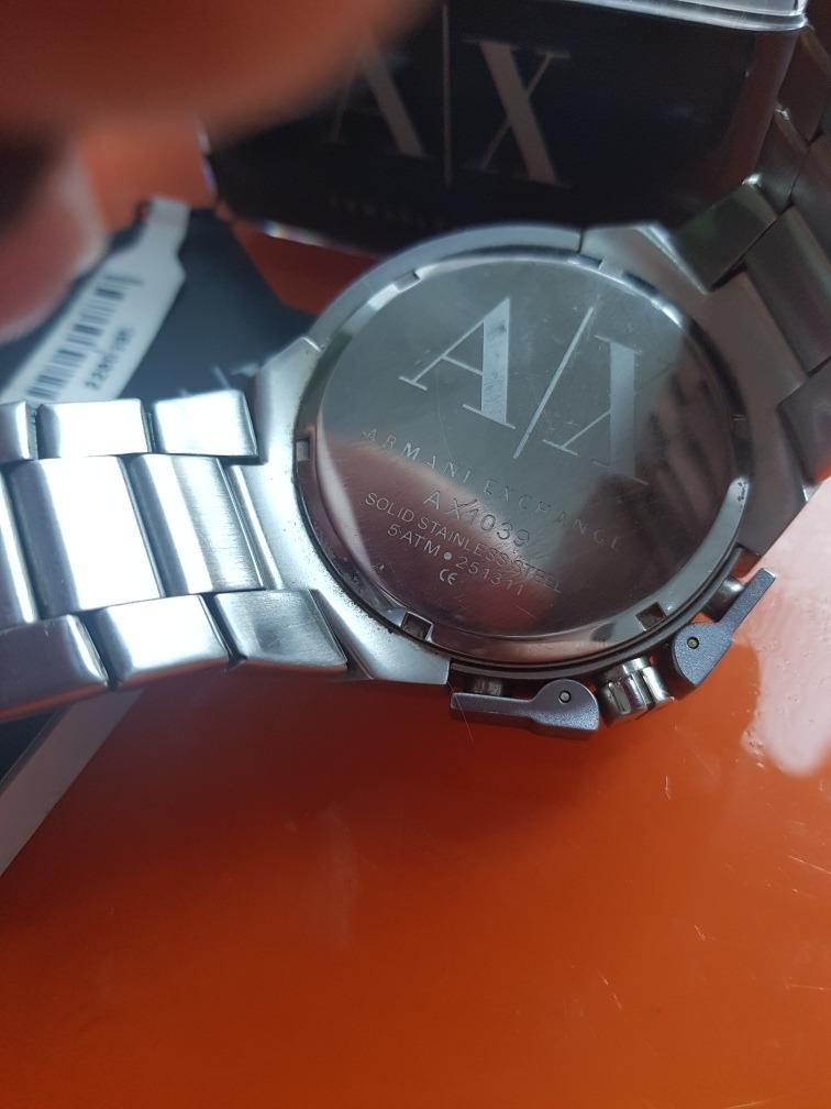 6f84b36eea3 relógio armani exchange. Carregando zoom.