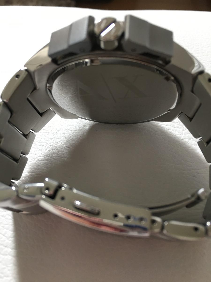 relógio armani exchange prata ax 1039 - 100% original. Carregando zoom... relógio  armani exchange. Carregando zoom. 62d6881923