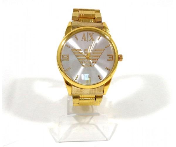 518aa43f2e6 Relógio Armani Exchange Dourado - R  79