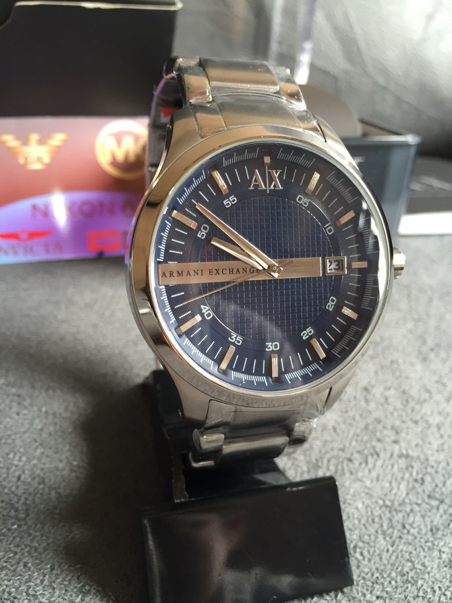 7070f47207a Relogio Armani Exchange Ax2132 Original Completo Com Caixa - R  549 ...
