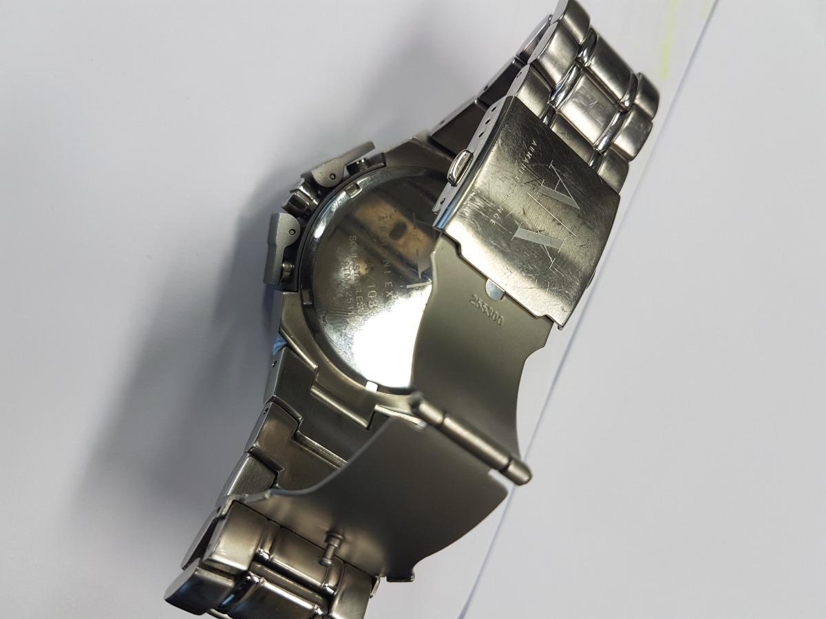 284024f83d9 Relógio Armani Exchange Usado Bem Conservado - R  480