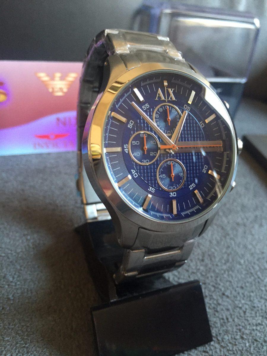 f61ea2b7816 Relogio Armani Exchange Ax2155 100% Original Completo Caixa - R  569 ...
