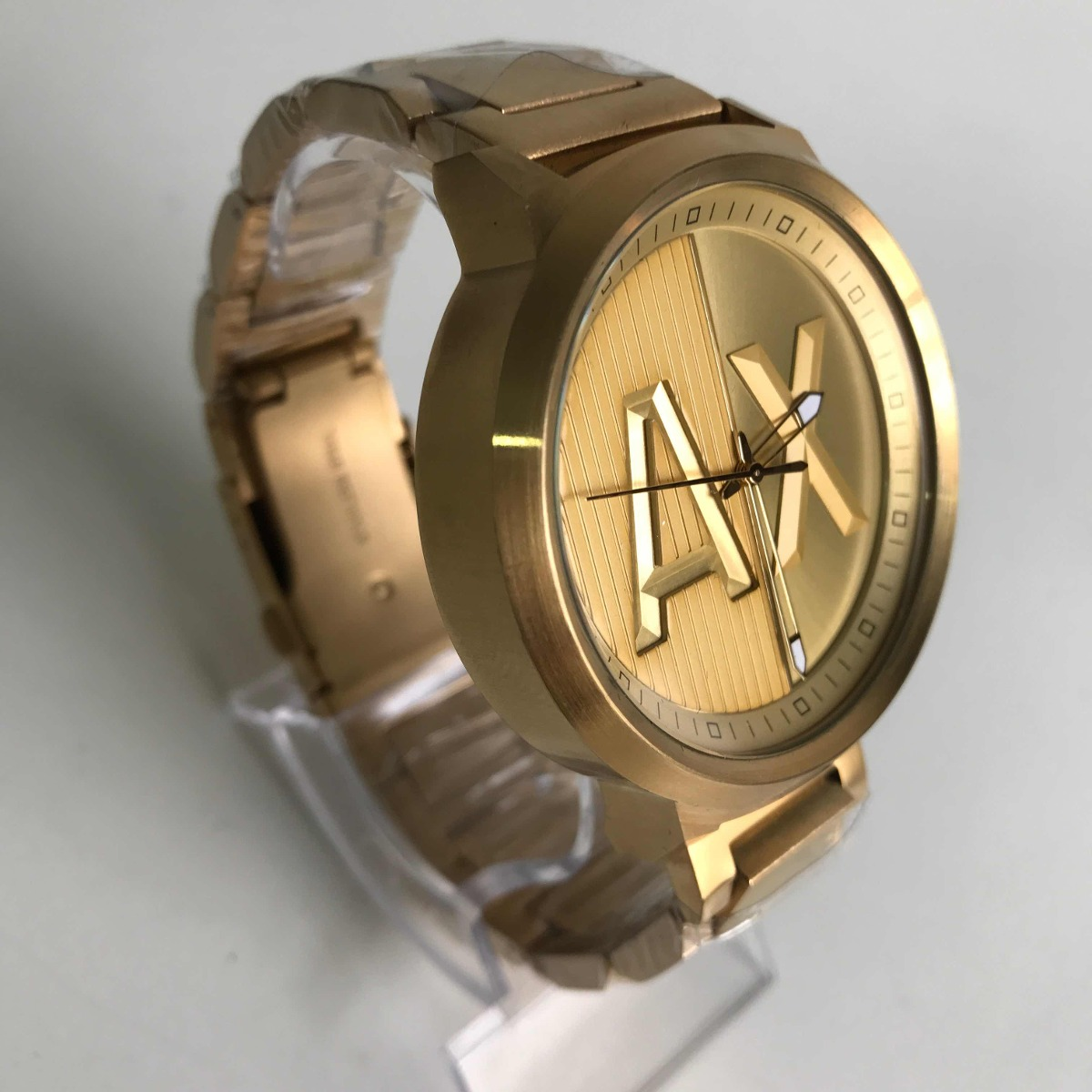 e7cb389cd6c relógio armani exchange ax-1363 dourado. Carregando zoom.