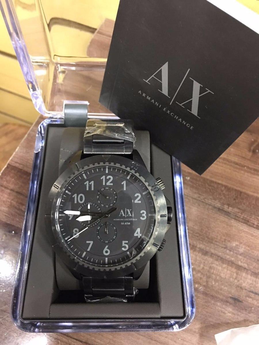 3ef4cb4f153fc Relógio Armani Exchange Ax 1751 Promoção Preto Fosco - R  185,90 em ...
