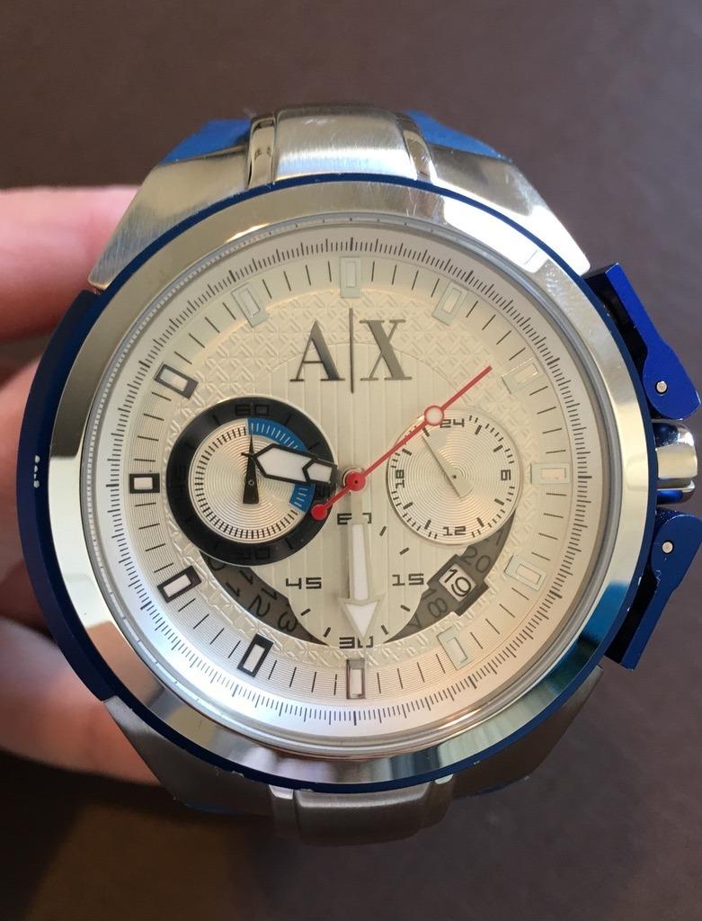 afc8b451d8a relógio armani exchange ax1041. Carregando zoom.