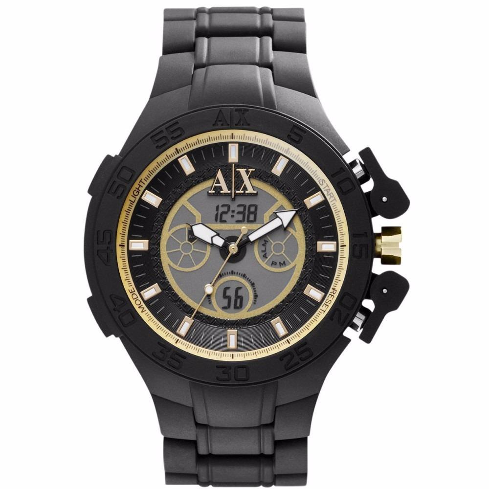 6eb54b305fc relógio armani exchange ax1194 chronografo original garantia. Carregando  zoom.