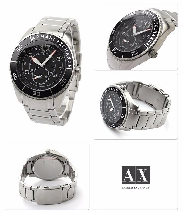 789a1a0cfa0 Relógio Armani Exchange Ax1263 - Pulseira De Aço - R  329