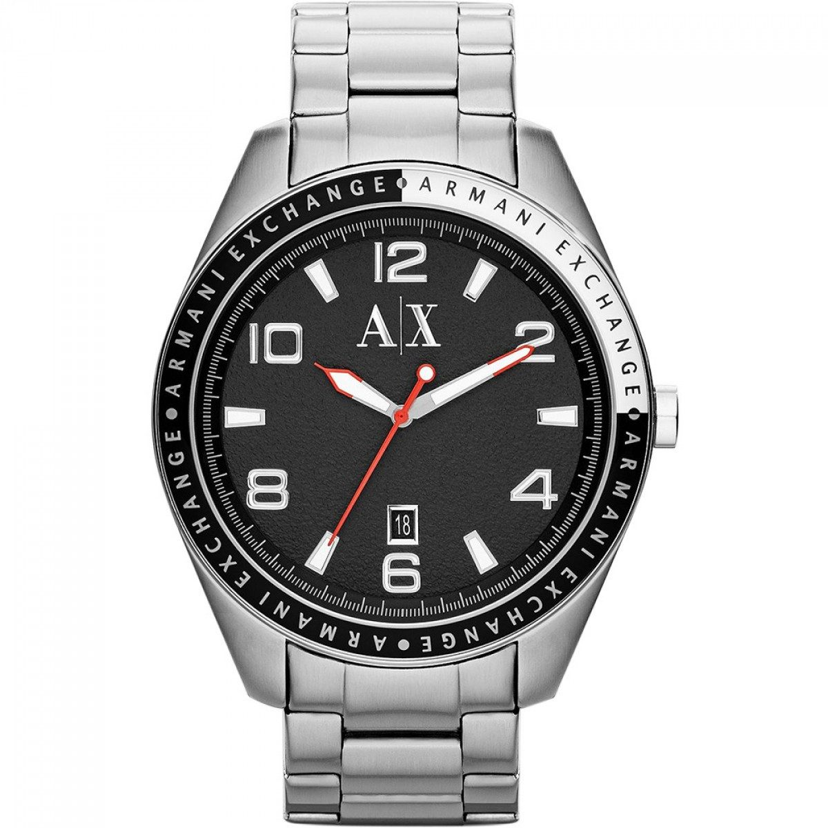 07bdb2fb13d relógio armani exchange ax1303 maculino pulseira aço garanti. Carregando  zoom.