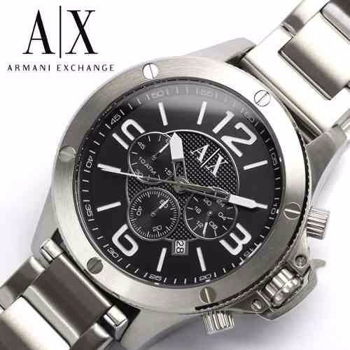 062d51ceac2f7 Relogio Armani Exchange Ax1501 Original Prata preto Promoção - R  499,99 em  Mercado Livre