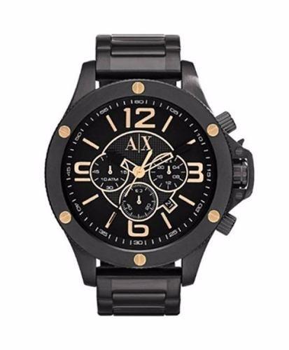 721fd2aaad9 relógio armani exchange ax1513 preto original promocional · relógio armani  exchange. Carregando zoom.