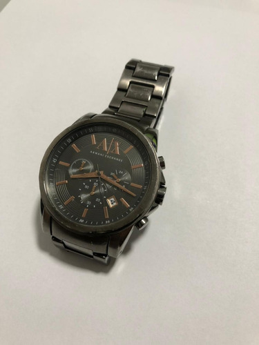 relógio armani exchange ax2086 pulso masculino